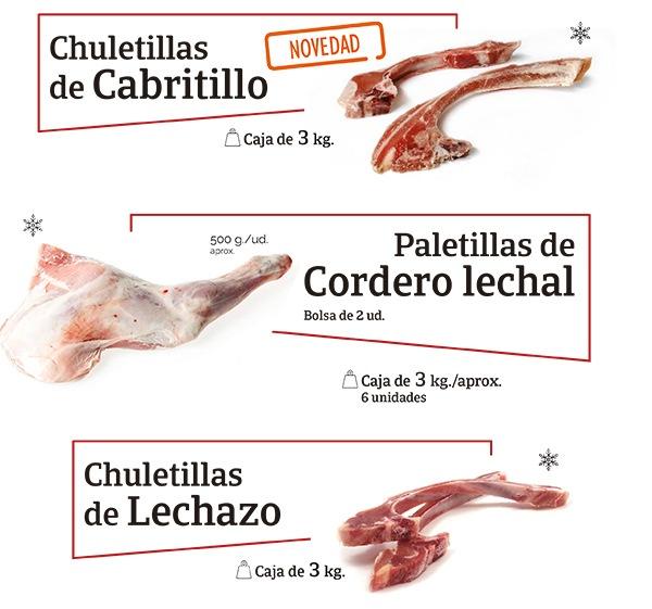 Chuletillas Cabrito y Paletilla Cordero 2019jpg