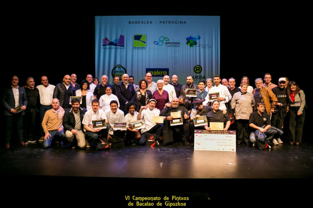 VI Campeonato de Pintxos de Bacalao de Gipuzkoa