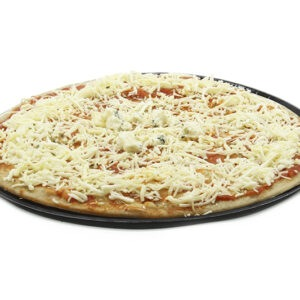 pizza quesos cruda sin gluten