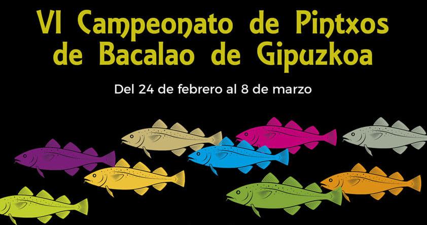VI Campeonato de Pintxos de Bacalao de Guipuzkoa