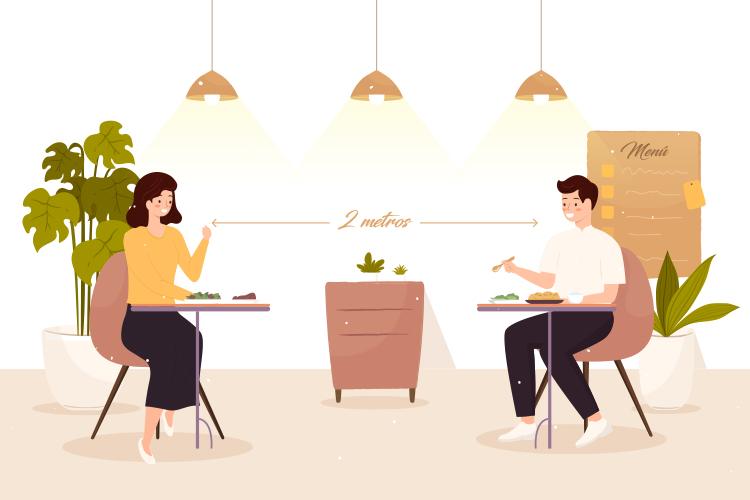 distancia-social-restaurante